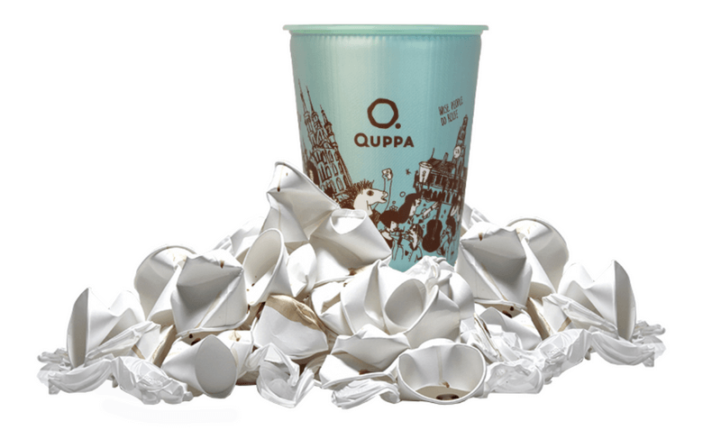 Reusable cup QUPPA
