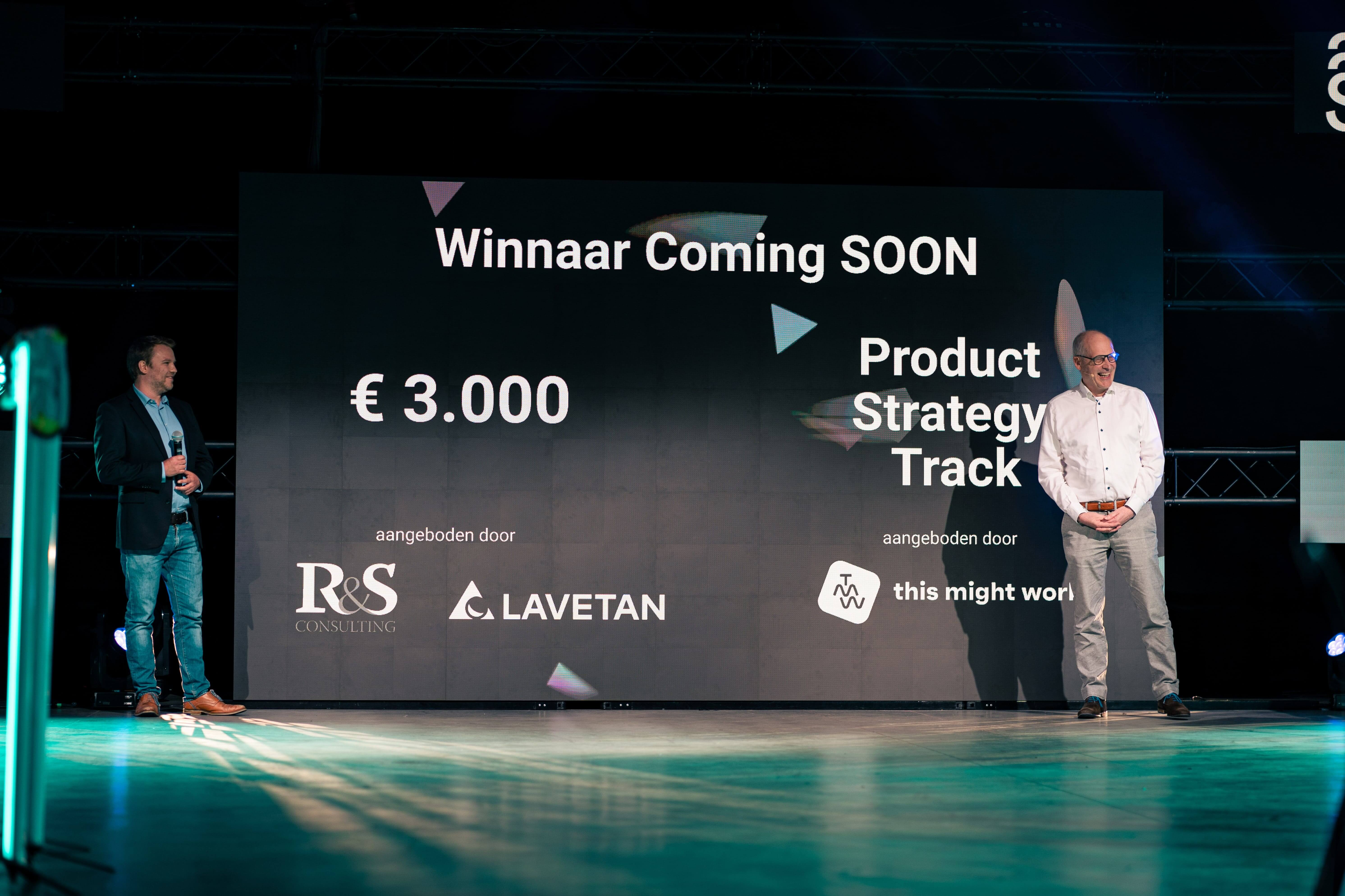 Winner SOON Festival Pitch Competition
