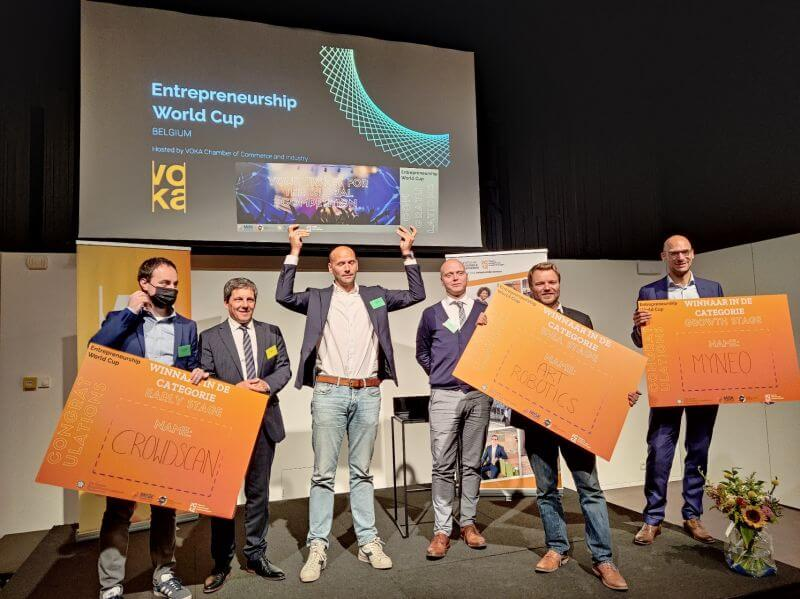 EWC Belgium Winner ART Robotics